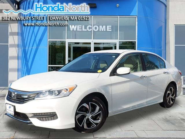 Certified Pre Owned 2016 Honda Accord Lx