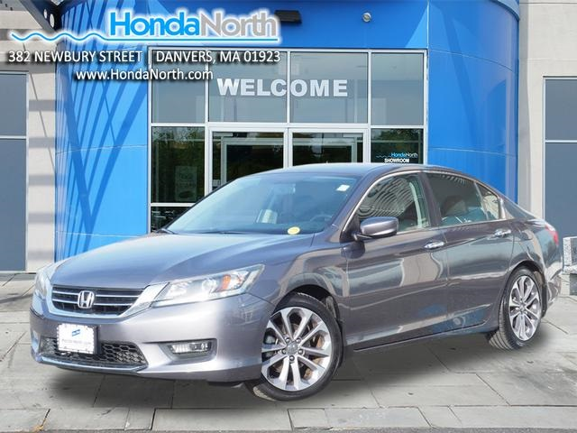 Certified Pre-Owned 2014 Honda Accord Sport