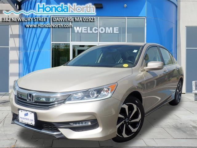 Certified Pre-Owned 2017 Honda Accord EX-L 2.4